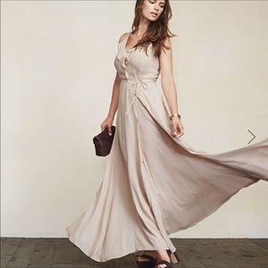 Reformation arabella dress lilac